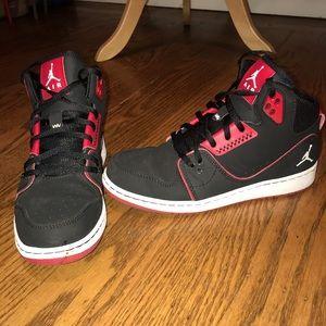 Red & black Jordan's